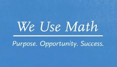 we use math