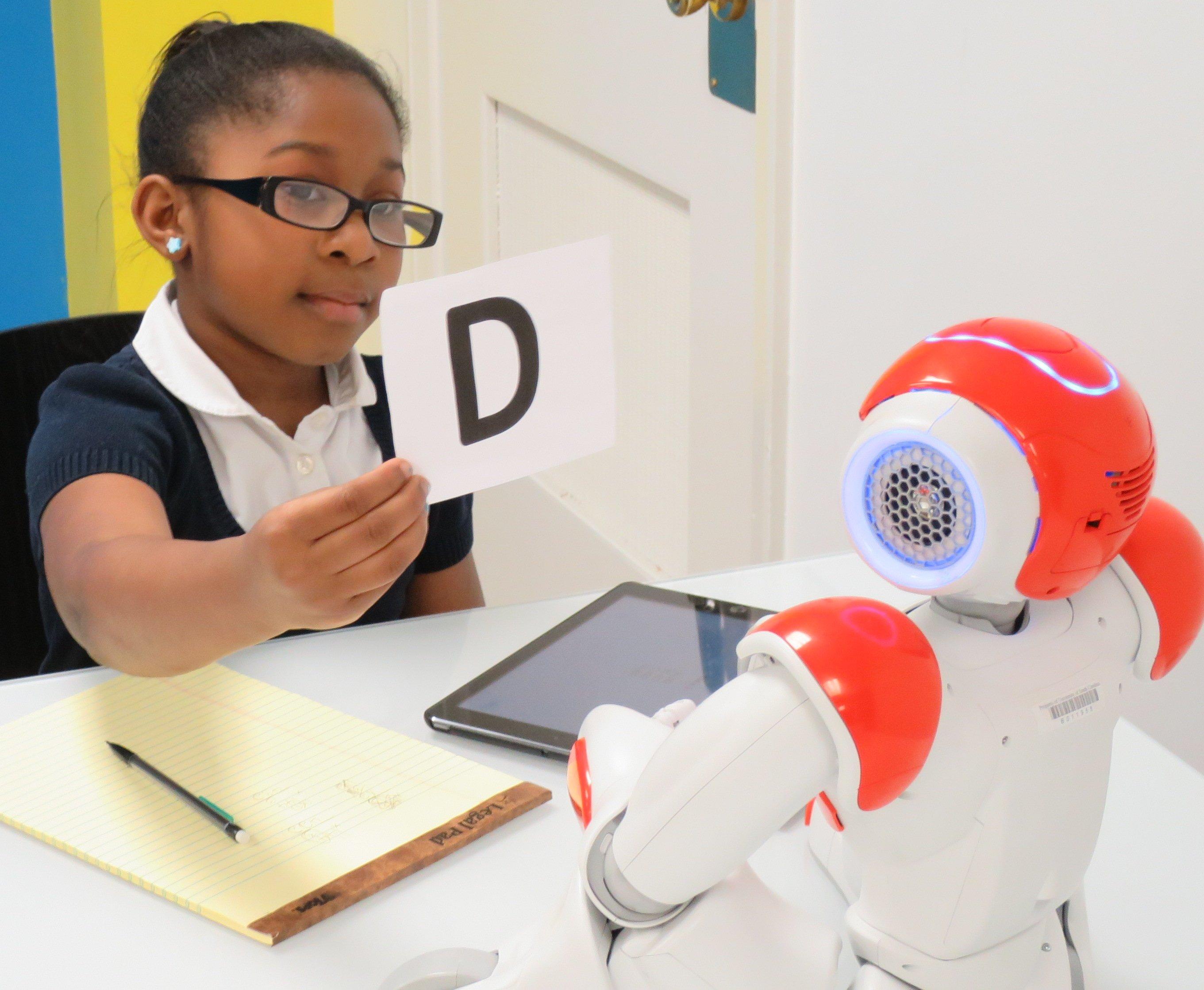 6. Teach trough robots