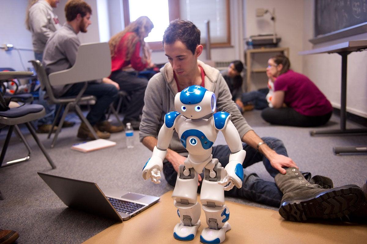 7. Tech robot
