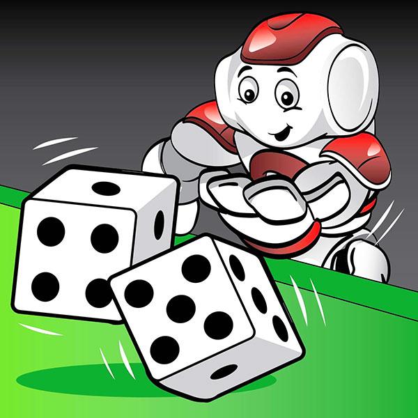 NAO Robot Lesson basic programming randomness