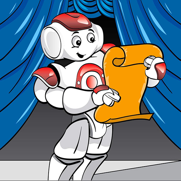 NAO Robot lesson basic programming this then that