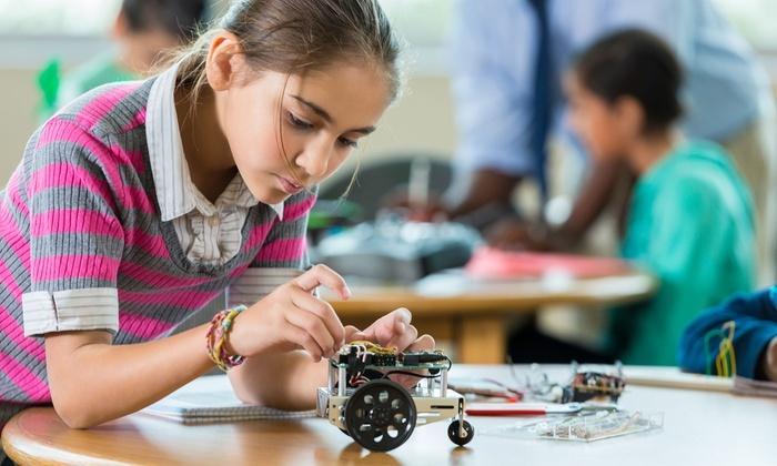 Girl- robotics