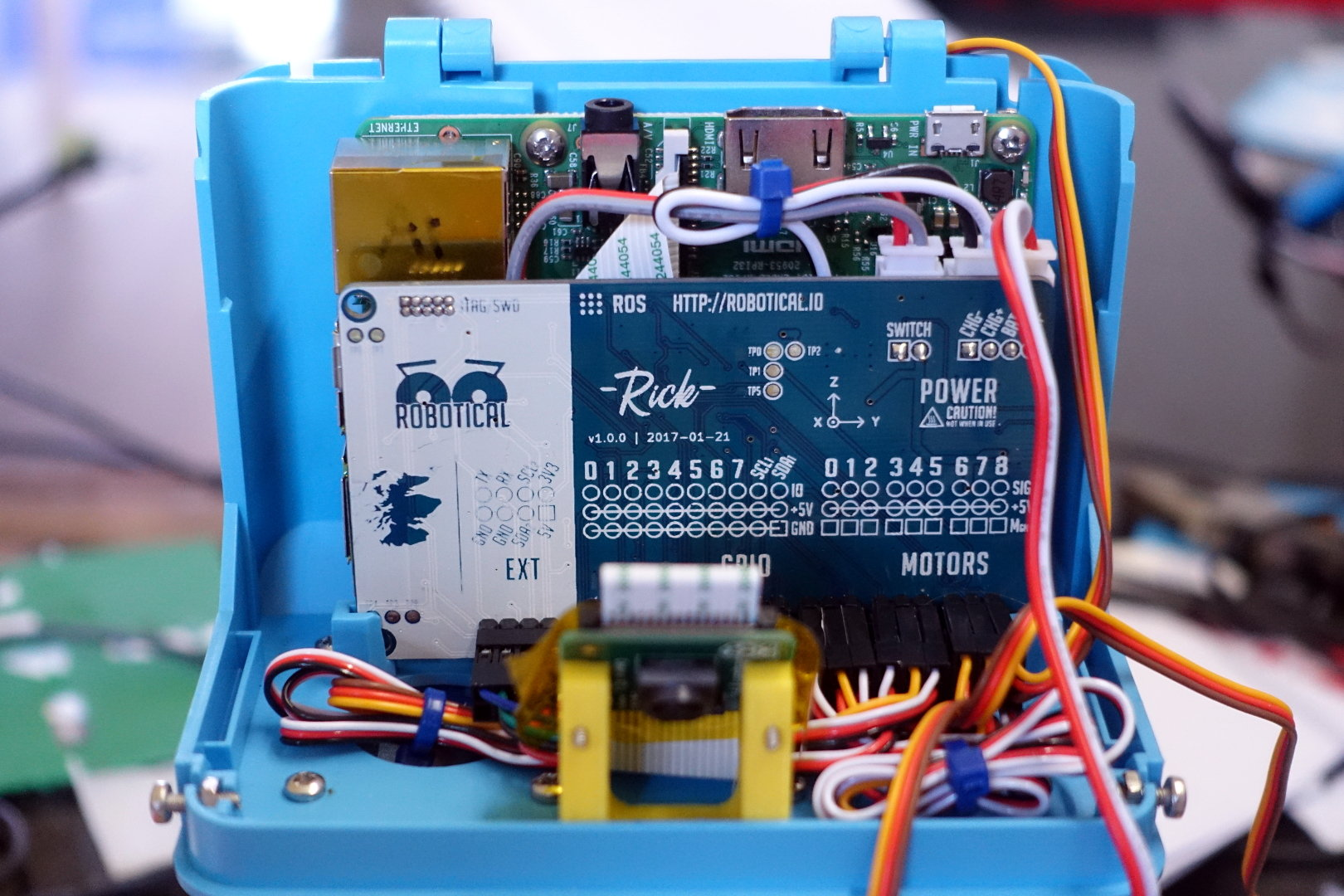 Marty Robot Raspberry PI