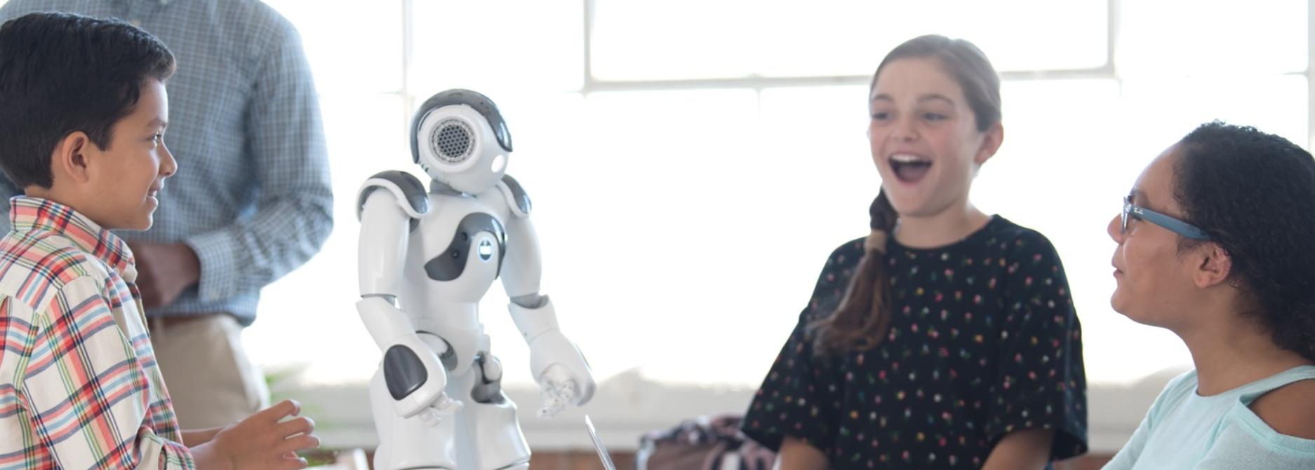 NAO robot and students1