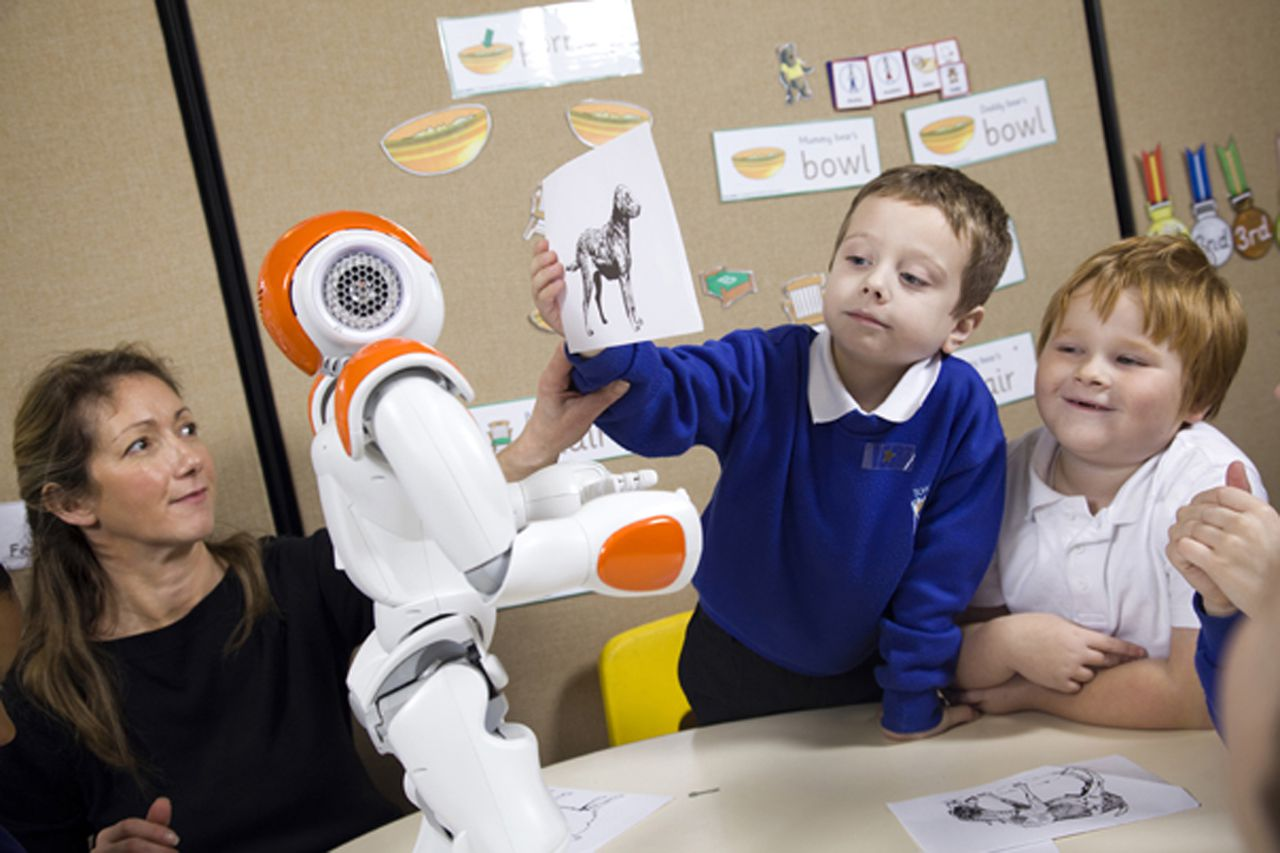 NAO robots can be easier for overstimulated kids to understand