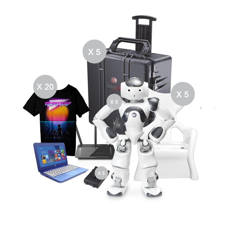 Nao Lab Pack