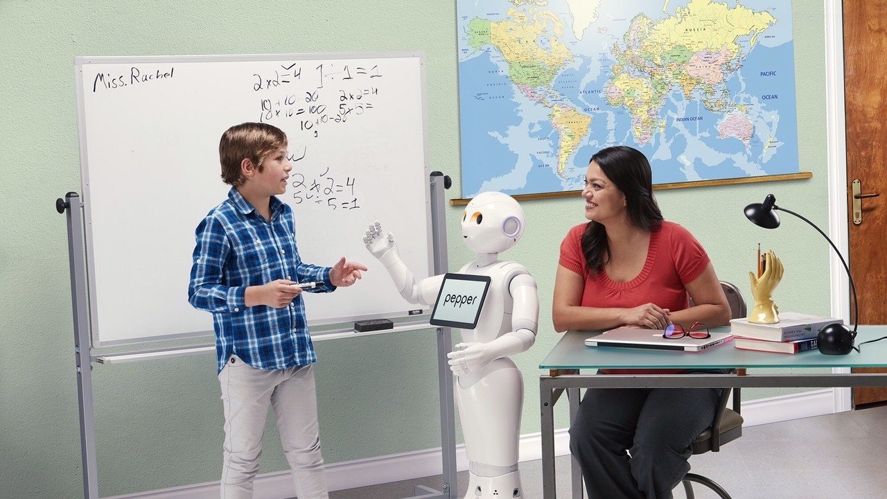 Pepper robog education