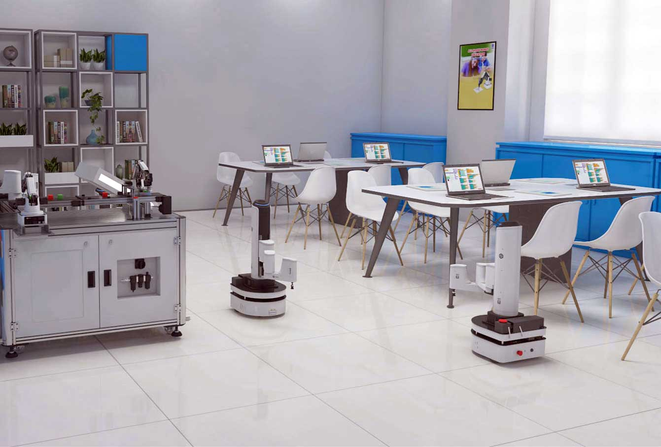 Smart-warehouse-Dobot