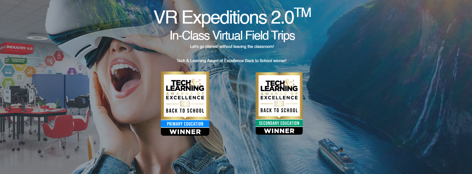 VR Expeditions 2.0-Winner-Tech&Learning