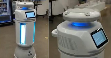 connor-UV-Disinfection-Robot