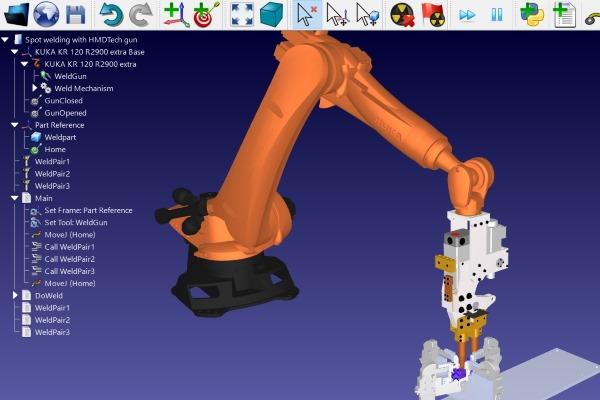 robot-spot-welding