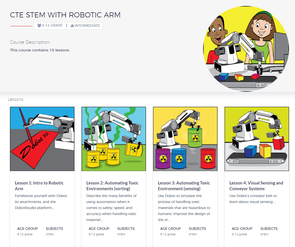 Teachers, looking to improve your lessons? RobotLAB Offers you a