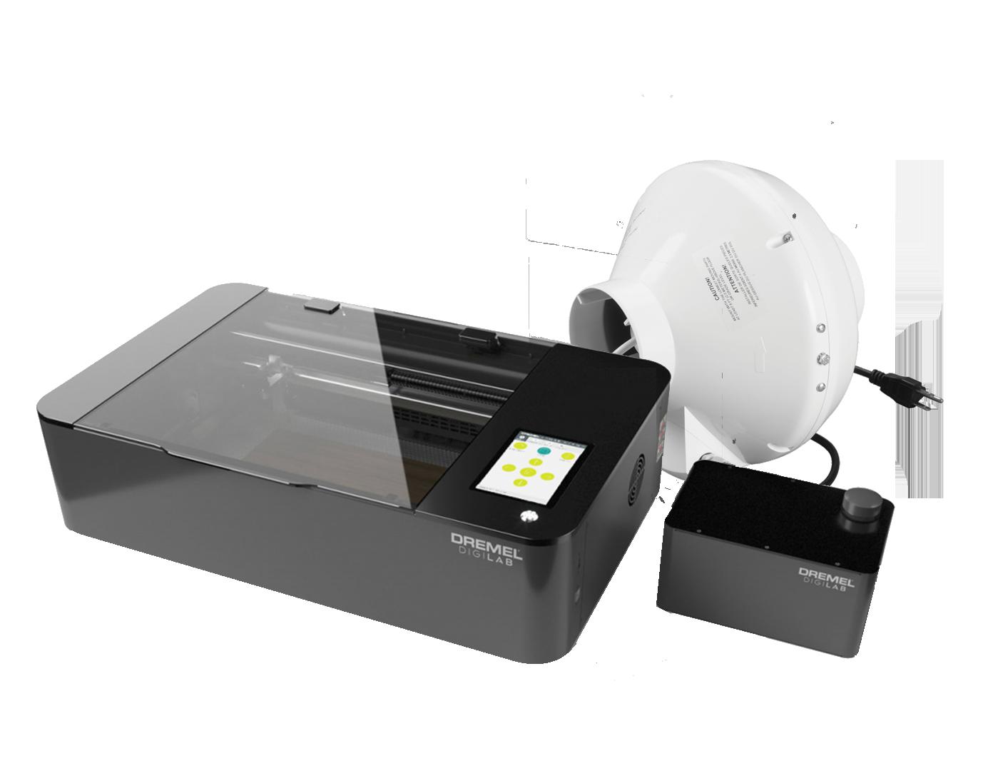 Dremel Laser with Booster Fan