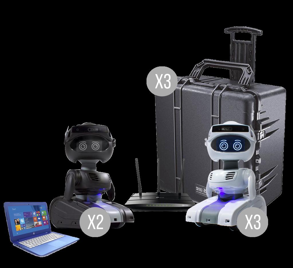 Misty Robot Lab Pack