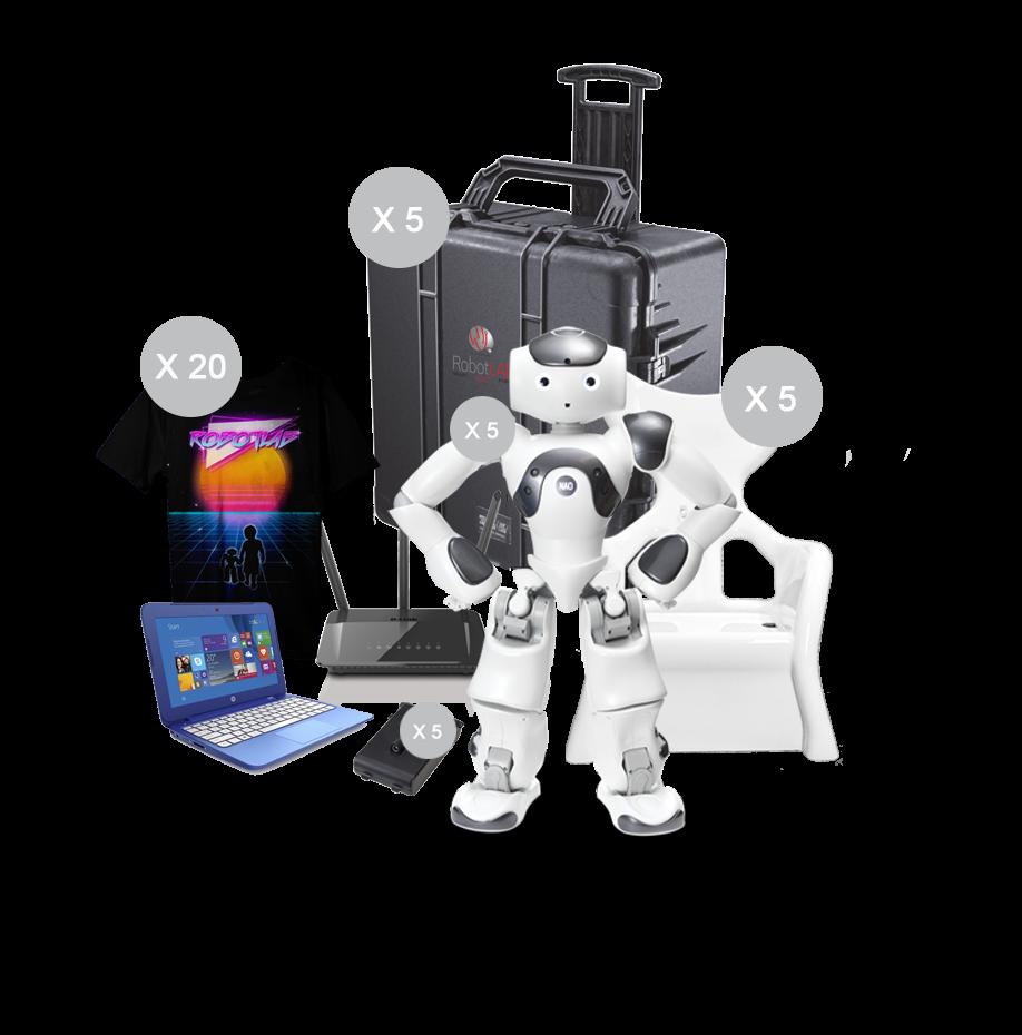 NAO Power V6 Educator Pack