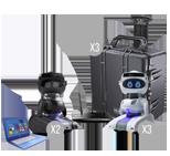 Misty Robot Black-White X3
