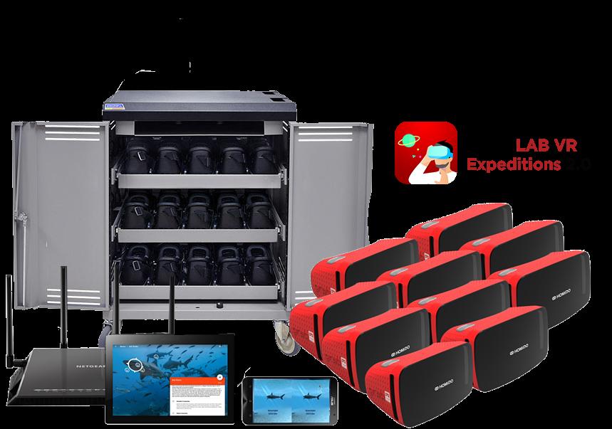 VR Kit standard-cart-2-EXP 2.0