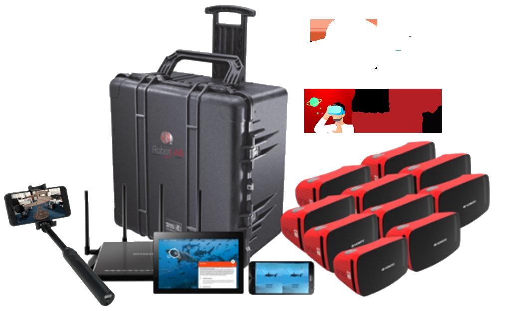 VR-AR kit with Transport Case-2 EXP 2.0