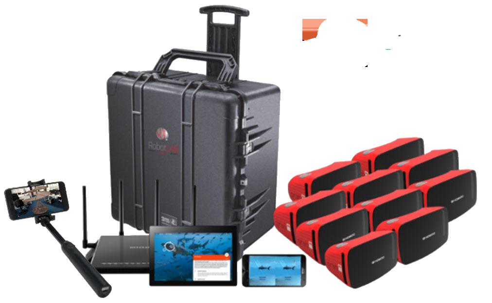VR-AR kit with Transport Case-2